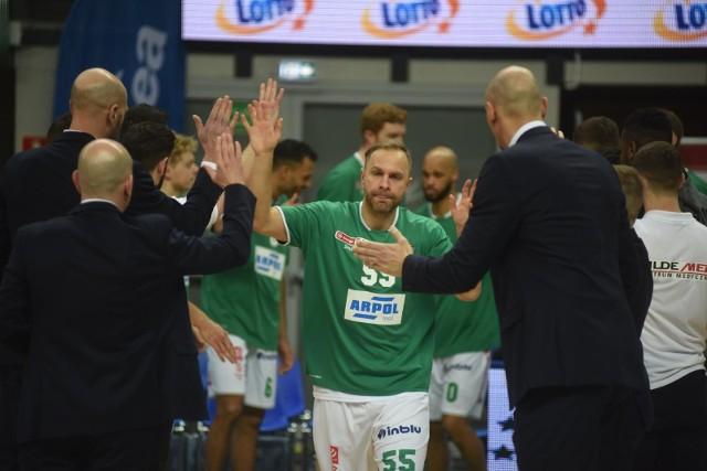 Łukasz Koszarek, kapitan Enei Zastalu BC Zielona Góra.