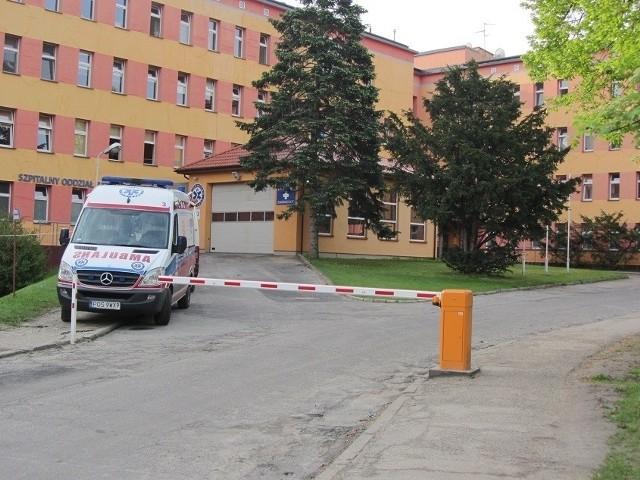 Szpital w Ostrowiu.