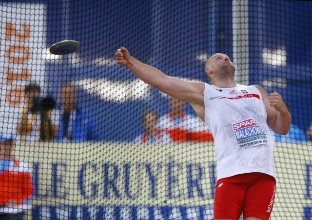 Polak był faworytem i długo prowadzi. Piotr Małachowski został jednak wicemistrzem olimpijskim w rzucie dyskiem.
