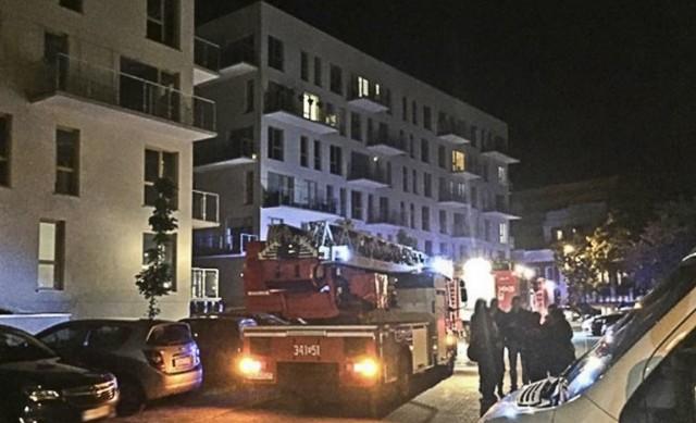 Ogień pojawił się w bloku przy ul. Moniuszki w Zielonej Górze