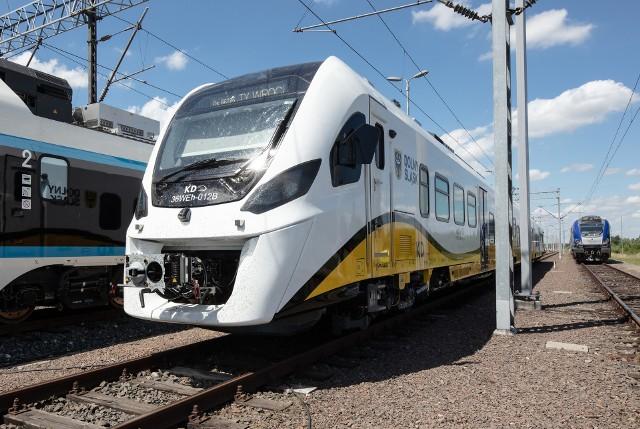 Nowy pociąg hybrydowy Kolei Dolnośląskich