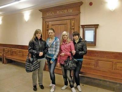Uczniowie zapoznali się m.in. z pracą Sądu Rejonowego w Miechowie Fot. Magdalena Uchto
