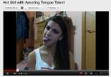 Zobaczcie, co dziewczyna potrafi zrobić z językiem (film)