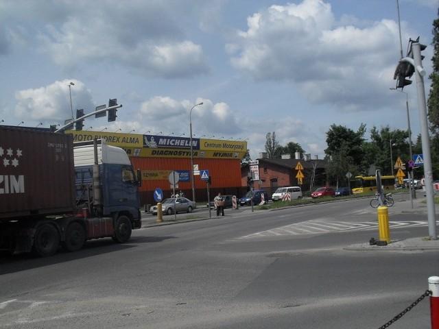 Skrzyżowanie ul. Okrzei i POW od jutra zamknięte