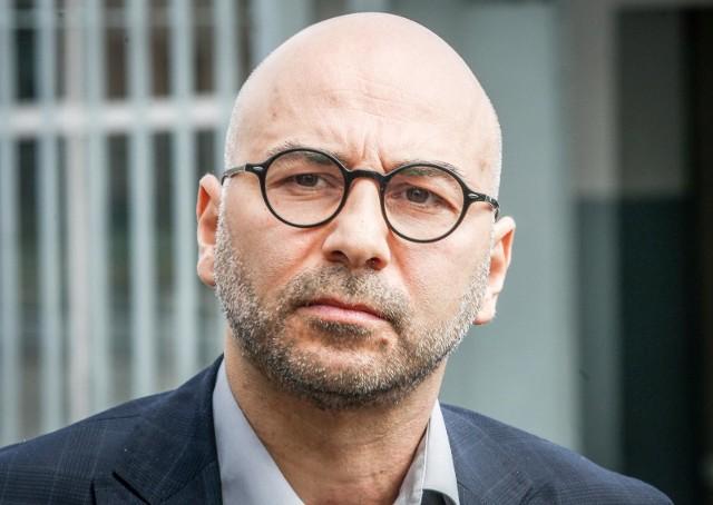 Radomir Szumełda działacz Komitetu Obrony Demokracji.
