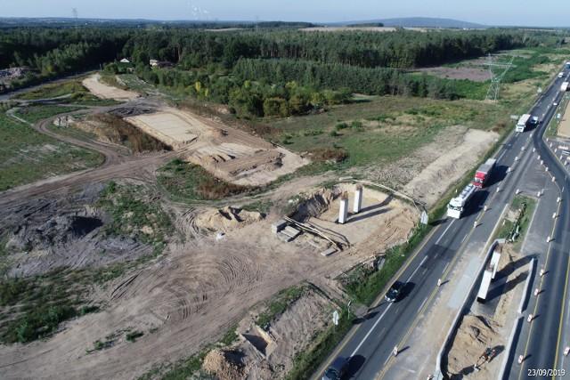 Budowa autostrady A1 w województwie łódzkim: odcinek Kamieńsk - Radomsko