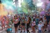 Tak bawiliście się na Święcie Kolorów Holi w Sępólnie Krajeńskim. Mamy zdjęcia