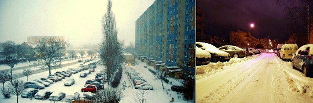 Zimowy Słupsk - zdjęcia nadesłane przez naszego internautę Macieja Łukasza Wojszkuna.