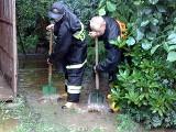Powódź w Rzeszowie. Wylewają już małe potoki, nad miasto zbliża się kolejna nawałnica