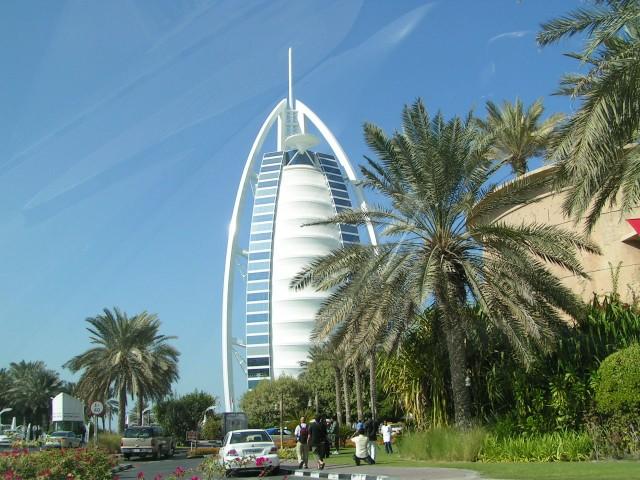Jedyny siedmiogwiazdkowy hotel na świecie. Właśnie  w Dubaju