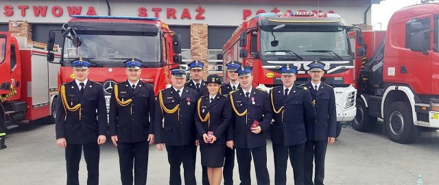 Strażaków z powiatu nakielskiego nie zabrakło na uroczystościach w Świeciu