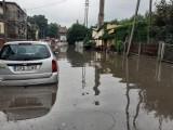 Oberwanie chmury i powódź w Czerwionce-Leszczynach. To kataklizm. Domy i ulice są zalane