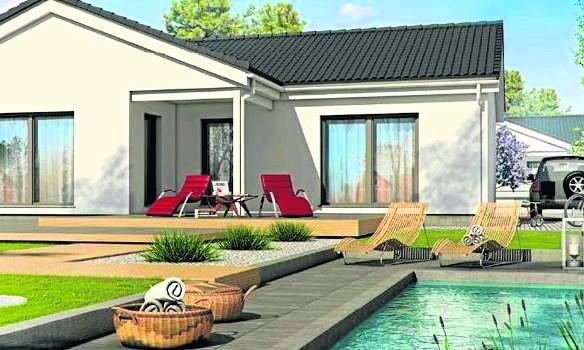Nowość w ofercie jednorodzinnych domów (konstrukcja drewniana) z serii Family (model Family 112) bielskiej firmy Danwood