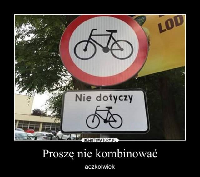 Rowerowe memy, czyli najlepsze MEMY o rowerach i rowerzystach na Światowy Dzień Roweru