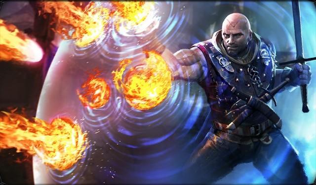 The Witcher Battle Arenaw grze The Witcher Battle Arena znajdziemy wiedźmina Letho