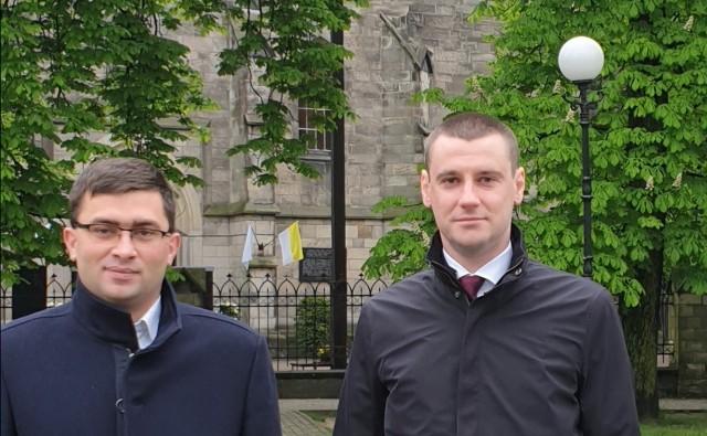 Od lewej: Damian Milczuszek i Dawid Lewicki.