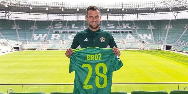Łukasz Broź został kolejnym nowym zawodnikiem Śląska Wrocław