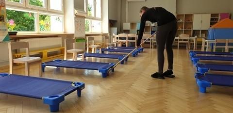 Przygotowanie w przedszkolach i żłobku w Krośnie Odrzańskim. Otwarcie już wkrótce!