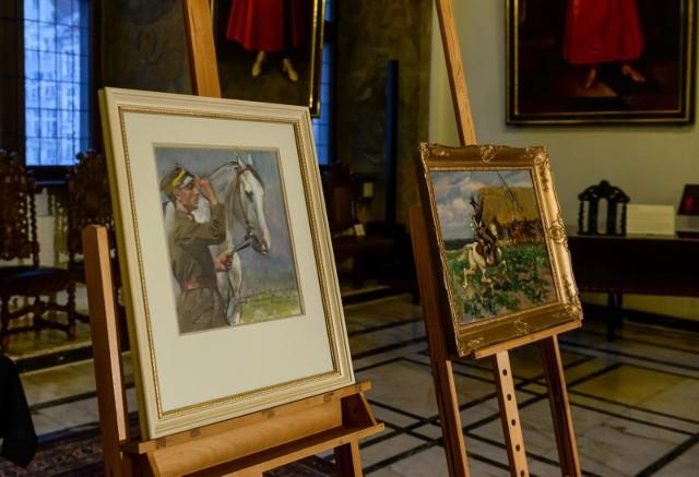 Prezentacja obrazów Wojciecha Kossaka, które po wielu latach wróciły do Gdańska
