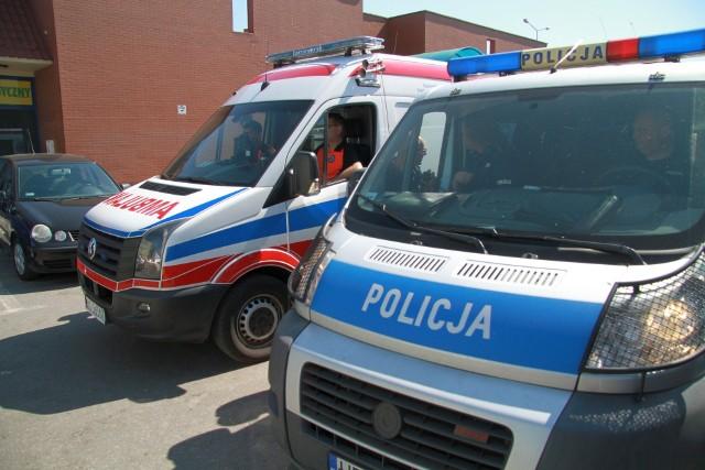 Wypadek obok Hali Targowej w Tarnobrzegu