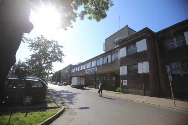 Strzelanina w Rudzie Śląskiej.Policjant zastrzelił pacjenta szpitala w Rudzie Śląskiej