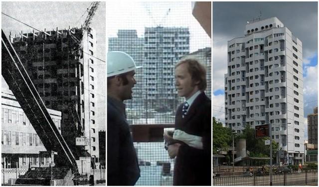 Manhattan (bo wieżowce) lub sedesowce (bo kształt okien) zbudowano we Wrocławiu w latach 1970–1973. Zaprojektowała je Jadwiga Grabowska-Hawrylak. Zobaczcie, jak wyglądała ich budowa, jak się zmieniały w kolejnych latach i w jakim filmie zagrały. Archiwalne fotografie pochodzą z portalu fotopolska.eu. Na kolejne slajdy możecie przechodzić za pomocą strzałek lub gestów.