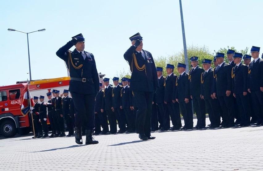 Obchody Dnia Strażaka 2015 w InowrocławiuRozpoczyna się strażacka uroczystość