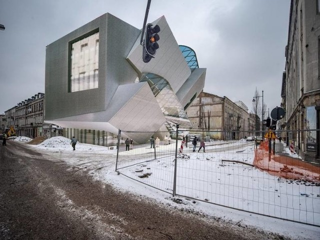 Daniel Libeskind ma zaprojektować pierwszy z obiektów SSD - kamienicę na rogu ulic Wschodniej i Jaracza.