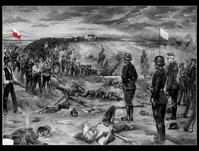 III Powstanie Śląskie na Górze Świętej Anny - symboliczny obraz ocalił od zapomnienia Bolesław Stachow