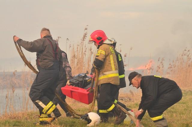 Płonie Biebrzański Park Narodowy. Pożar pochłonął już ponad 1400 hektarów Parku. Ogień gaszą strażacy i cztery samoloty lasów państwowych