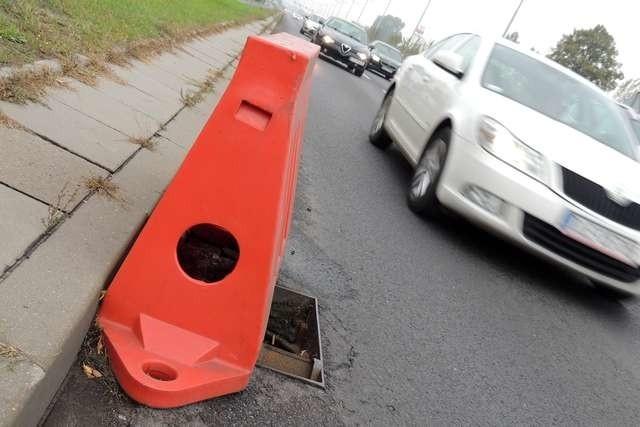 Studzienka na Szosie Lubickiej była zagrożeniem dla kierowców