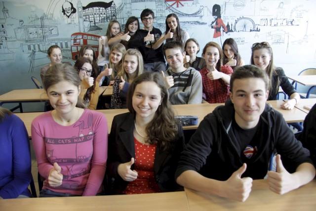 Klasa III a z Gimnazjum nr 10 zajęła 3. miejsce w konkursie EF Global English Challenge