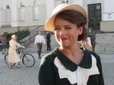 Anna Mucha zapewniała w Radomiu, że nigdy nie przekracza prędkości! Brawo!
