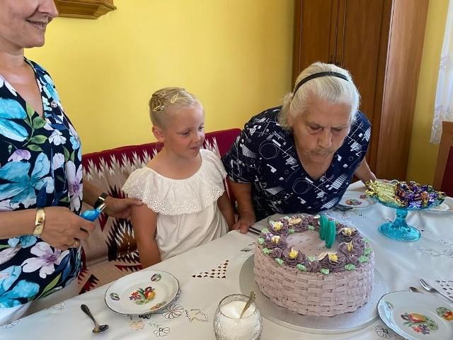 Dziewięćdziesiąte urodziny pani Janiny Sporek z Błotnika
