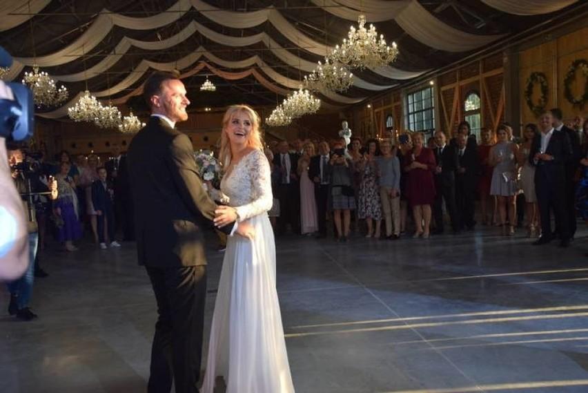 Natalii Mancewicz wyszła za mąż w kościele w Turośni Kościelnej. Wesele odbyło się w Pomigaczach w Majątku Howieny