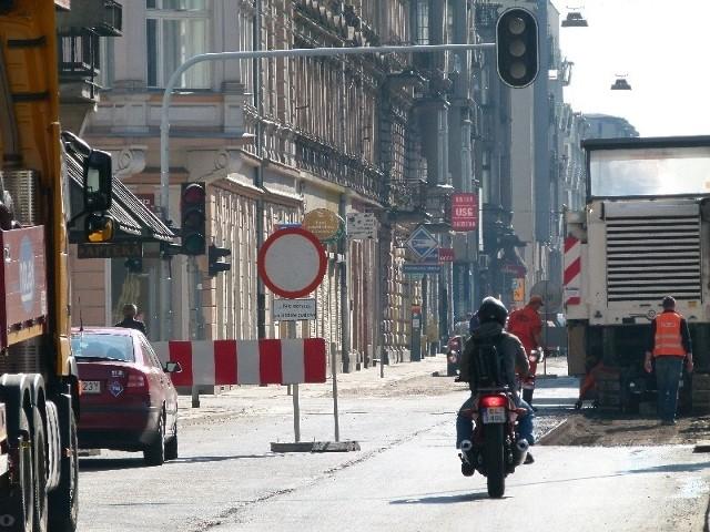 Skrzyżowanie ul. Piotrkowskiej z ul. Zamenhofa/Nawrot zostało wyłączone z ruchu.