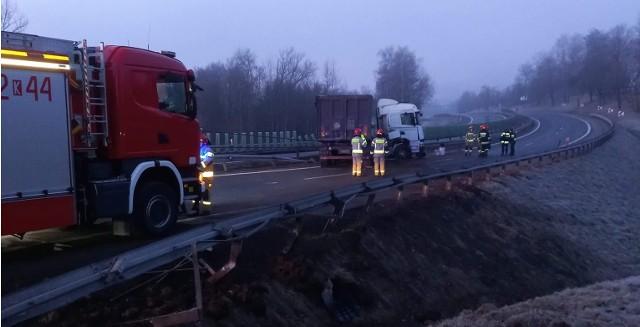 Utrudnienia na zakopiance dziś spowodował wypadek w Moglinach