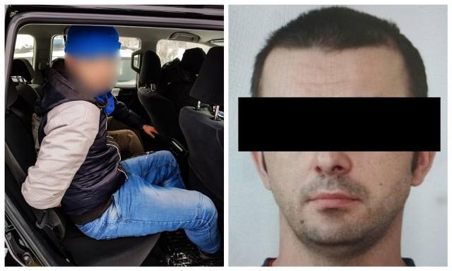Uciekinier Maciej D. pięć dni ukrywał się przed policją. Został zatrzymany na terenie powiatu monieckiego. Ukrywał się w pustostanie.