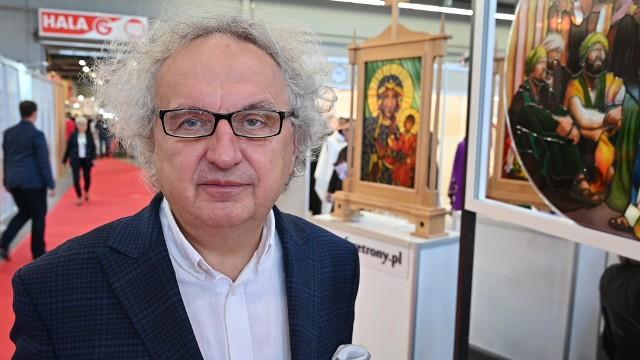 Prezes Targów Kielce Andrzej Mochoń jest bardzo zadowolony z tegorocznej wystawy Sacroexpo.