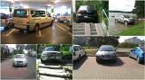 Najgorzej zaparkowane samochody na Pomorzu. Dramat! Jak można tak zaparkować?!