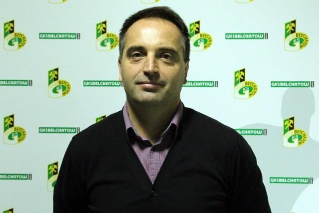 Trener Marcin Węglewski