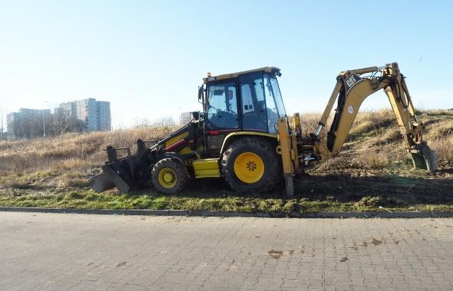 Przy Szosie Kisielińskiej rozpoczęły się już prace przygotowawcze dotyczące nowej inwestycji.