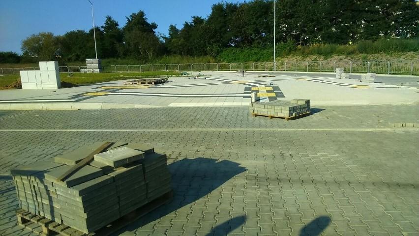 Pierwsze autobusy na pętlę Turkusowa wjadą między listopadem...