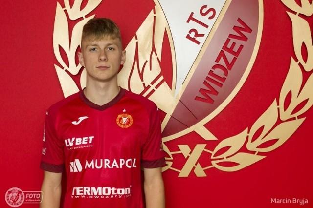 Nowy młodzieżowiec dołączył do Widzewa Łódź