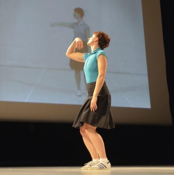 """Na Kalejdoskopie można było zobaczyć m.in. taneczne widowisko Barbary Bujakowskiej """"3d-ance"""""""