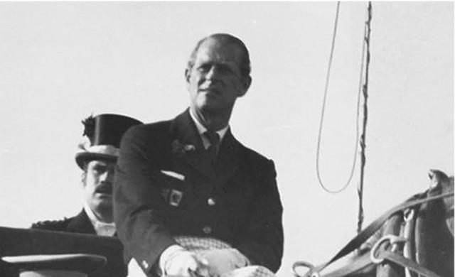 Książę Filip w Sopocie, rok 1975