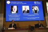 Laureaci Nobla 2020 z fizyki: fizyk Sir Roger Penrose, astrofizyk Reinhard Genzel, astronom Andrea Ghez