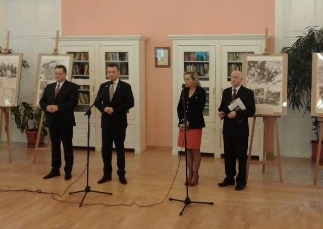 Ekspozycja jest poświęcona historii żołnierzy gen. Władysława Andersa.