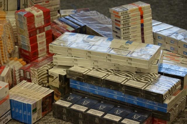 Na Bałuckim Rynku handlowali papierosami, tytoniem i alkoholem bez akcyzy