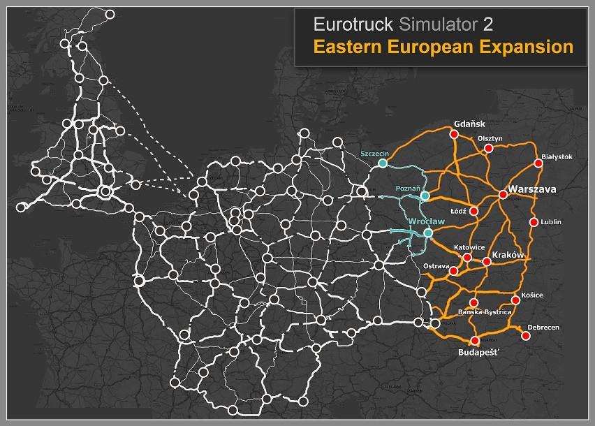 Euro Truck Simulator 2: Going East! Ekspansja Polska. Premiera nie tylko dla kierowców (wideo)